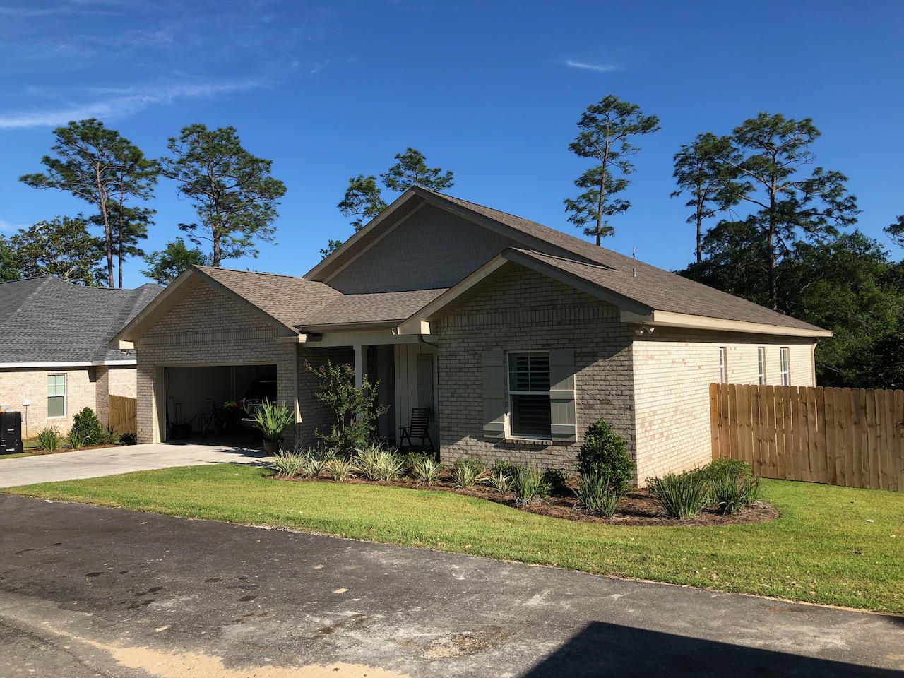 This one year old home in the boutique neighborhood of Pinecrest Heights has 4 bedrooms, 2.5 baths, engineered hardwoods throughout, upgraded professional series stainless appliance, and all the other wants for a one year old home.