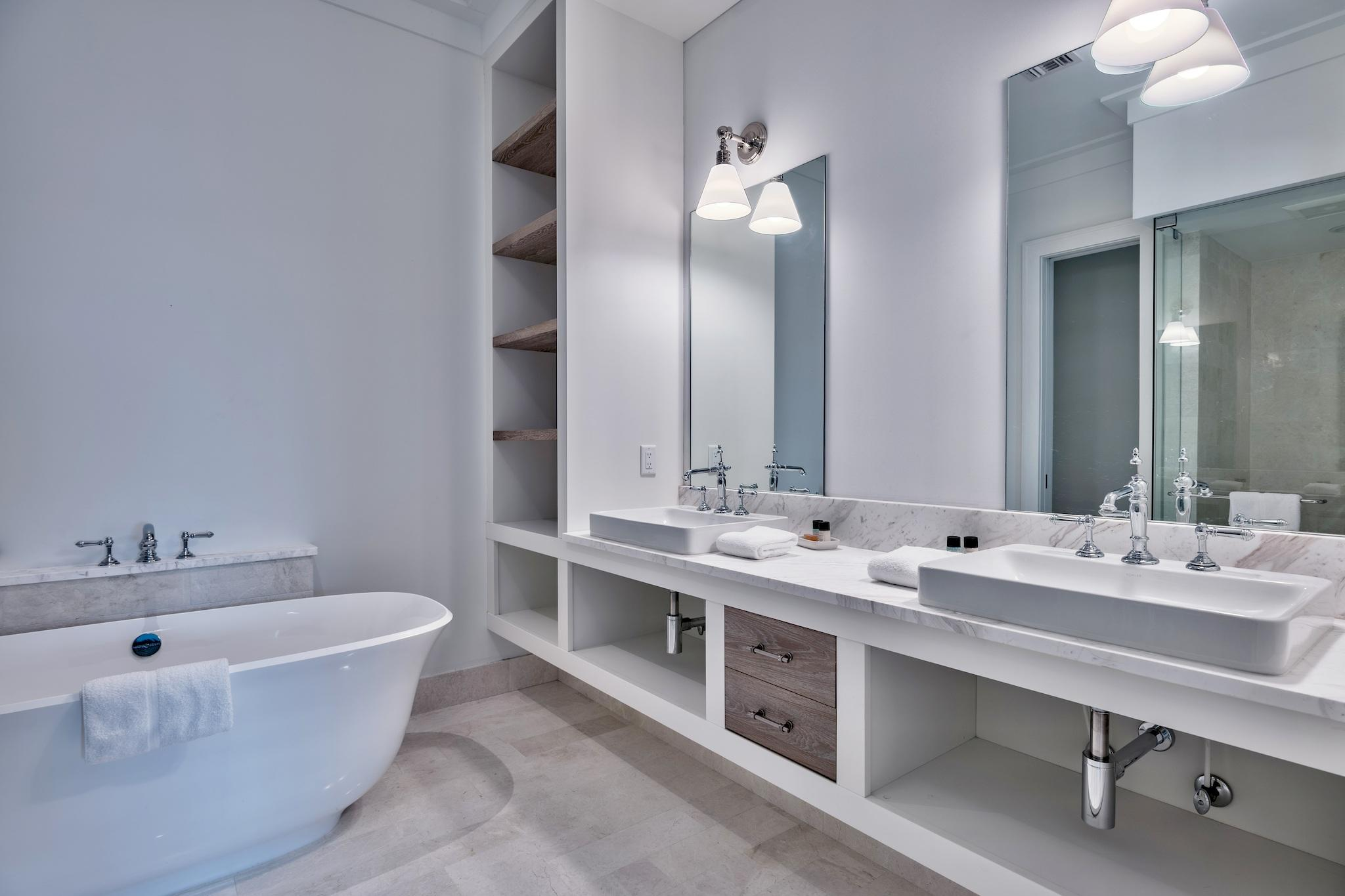 Master Secondary Bathroom