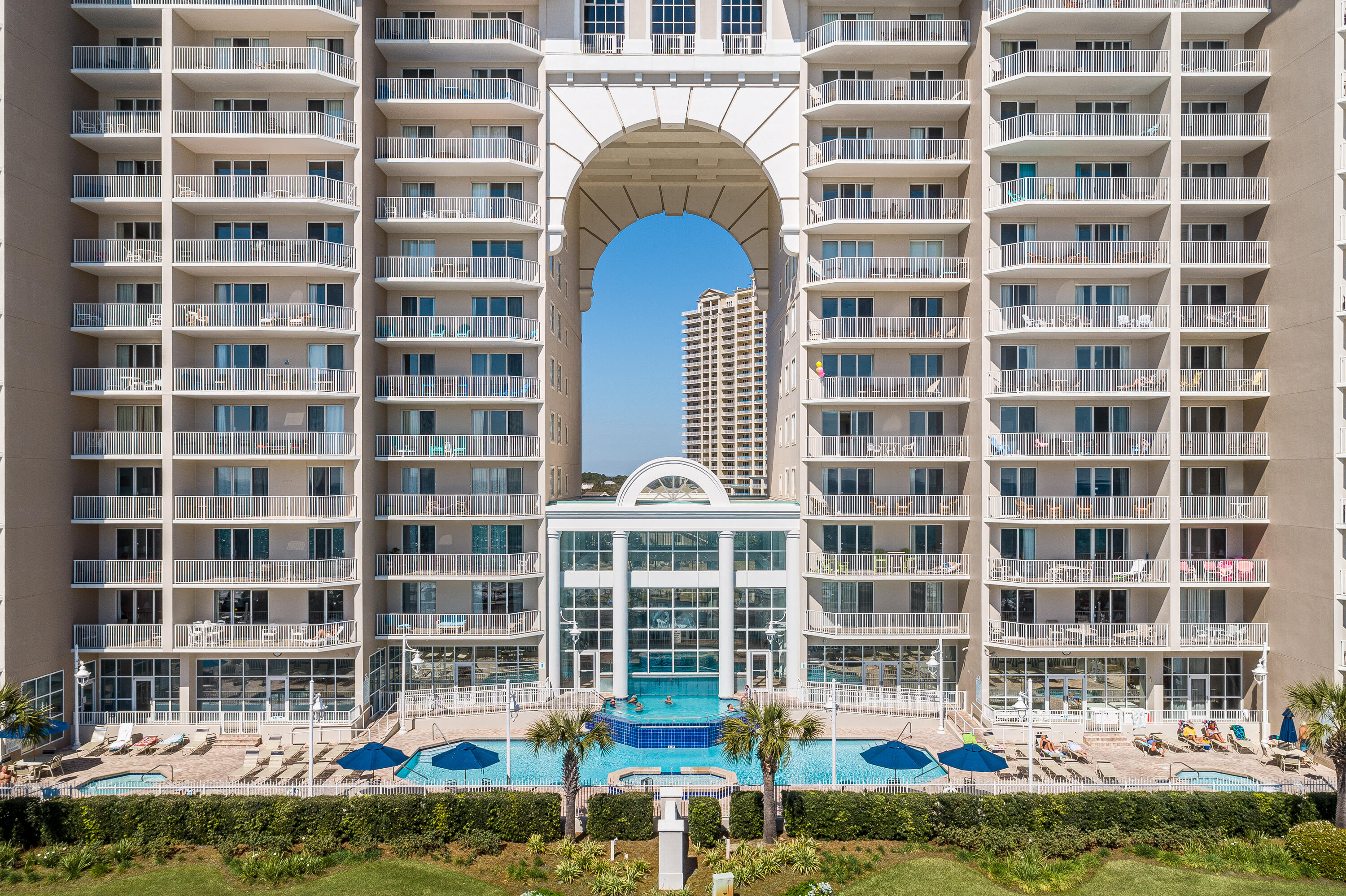 **$32K GROSS RENTAL REVENUE YTD through July 2021** Enjoy stunning views from this 2BR Deluxe at Majestic Sun. This uint is being offered fully-furnished and ready to rent (pending rentals can convey if the buyer wants to stay with the current rental manager). The is tile throughout the entire unit. Enjoy the indoor/outdoor pool, work out in the fitness center, chill in the hot tub or take a short stroll across to the Gulf of Mexico...all just steps away from your condo. The parking garage makes parking easy and Seascape offers golf, tennis, another pool and many on site restaurants. These units are rarely offered for sale...make it a point to see this one between rentals.