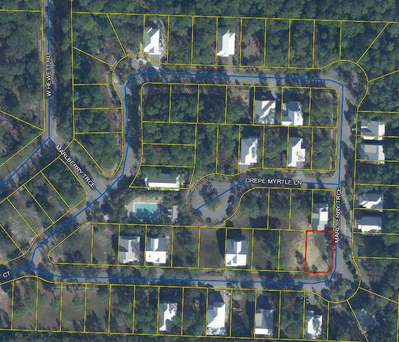 LOT 58 Hidden Grove - MLS Aerial Snippet