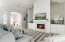 Open spaces and tall ceilings