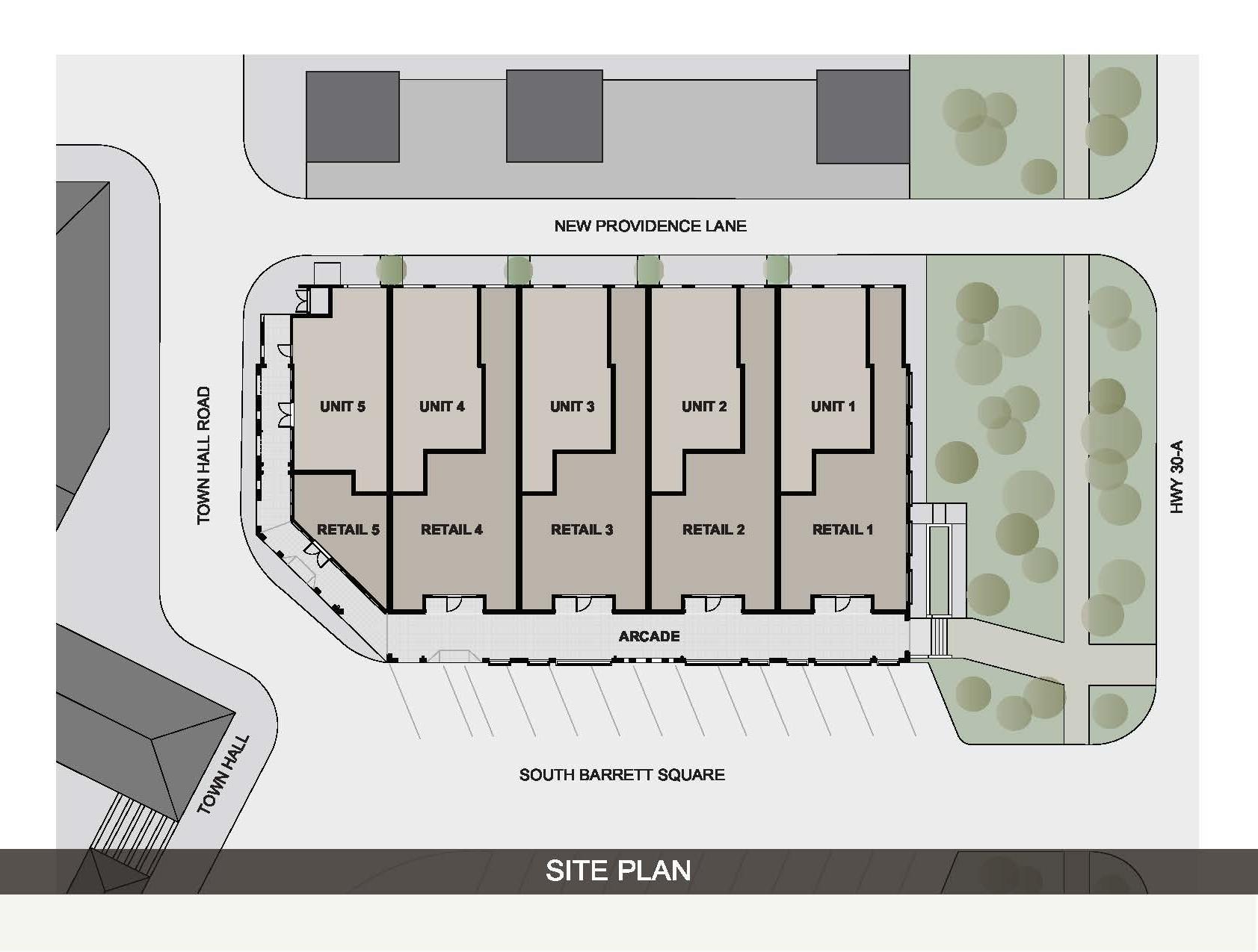 Site Plan layout
