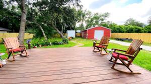 Wonderful patio Deck and large back yard