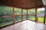 Screened-in patio with screens under decking, so no mosquitos!!