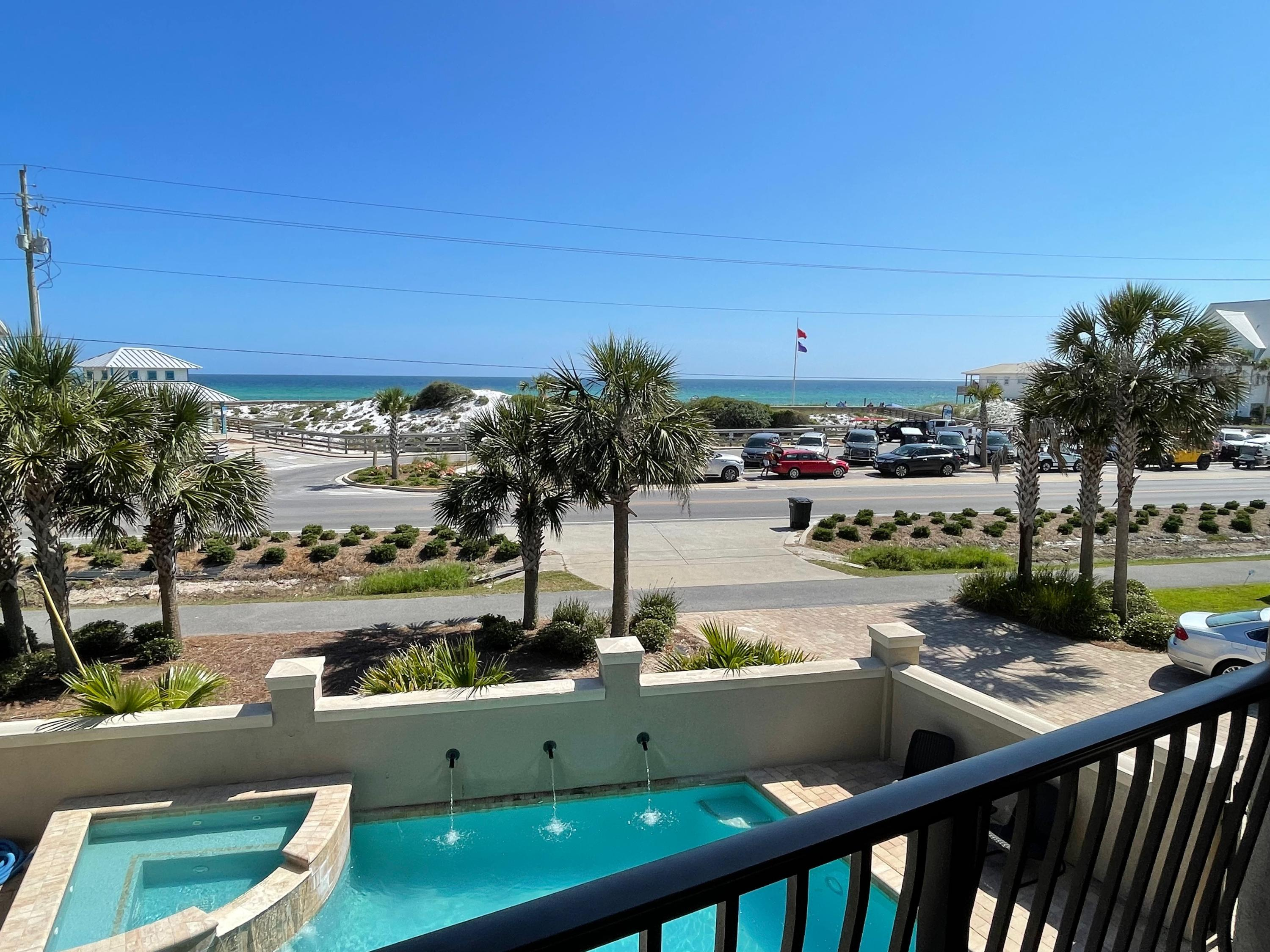 The perfect combination..directly on CR-30A, backyard overlooking a coastal dune lake, front yard/po