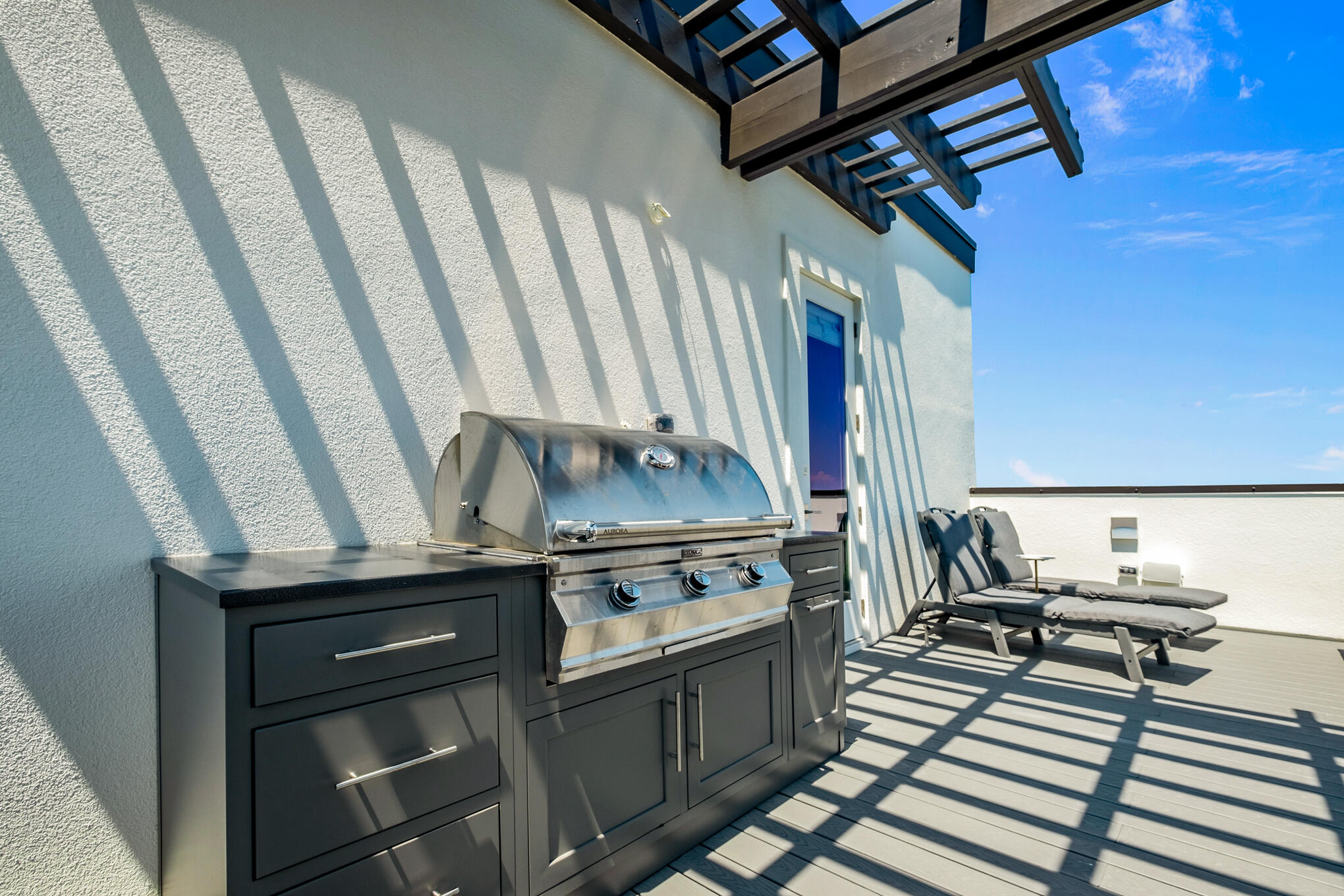 Rooftop Outdoor Grill