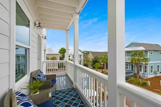 second level balcony
