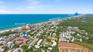 Excellent Heart of Seagrove Location - 2 blocks to public beach access