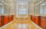 Master Bath vanities opposite each other with grand mirrors
