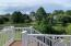 Vinyl railing and beautiful lake views