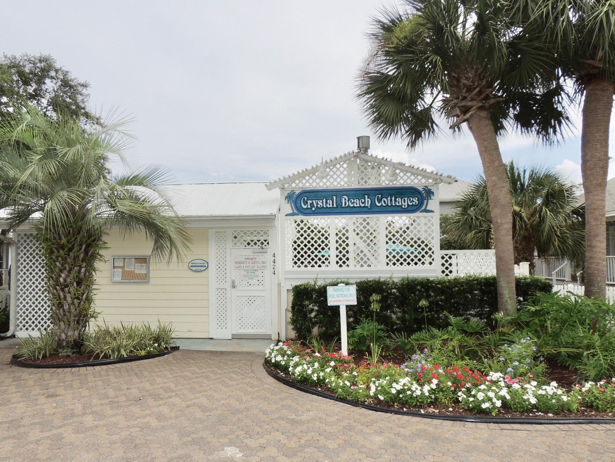 crystal beach cottages