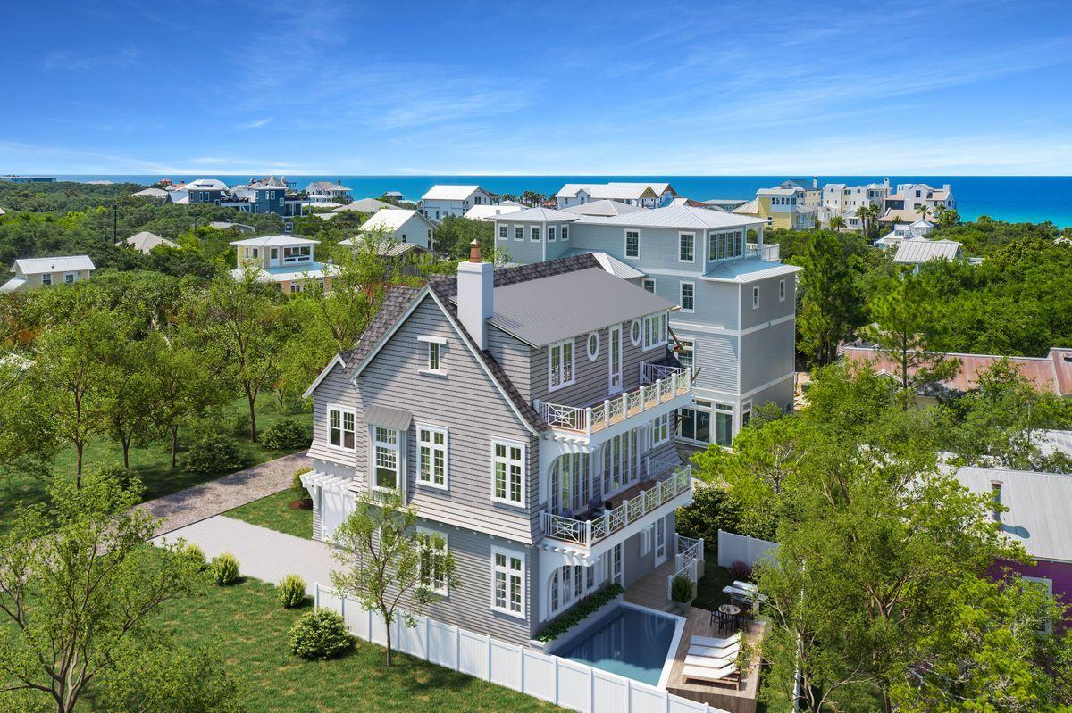 Rare New Construction With Gulf Views in Old Seagrove Beach. A rare find, this brand new construction in Old Seagrove Beach enjoys custom features and gulf views. Designed for families to share times of togetherness, this thoughtful design by T.S.Adams is built with professional precision by RyanHarp Construction. Spread over three floors, 6 bedrooms (including a bunk room) and 5.5 bathrooms allow everyone to enjoy their own private space. The large chef's kitchen brings everyone together for breakfast and social chatter while planning the day ahead. Spacious living areas are designed for entertaining while custom touches add to the interest and individuality of each room. The accommodation flows seamlessly out to generous outdoor space, focused on the luxury pool. Steps from beach access, this bespoke home is perfectly located for morning runs or sunset strolls along the seashore. Right next to Seaside for dining, shopping and entertainment, this is a home for family vacations or full-time living. It's designed for embracing the relaxed 30A lifestyle. Due for completion first quarter 2022, now is the time to secure it.