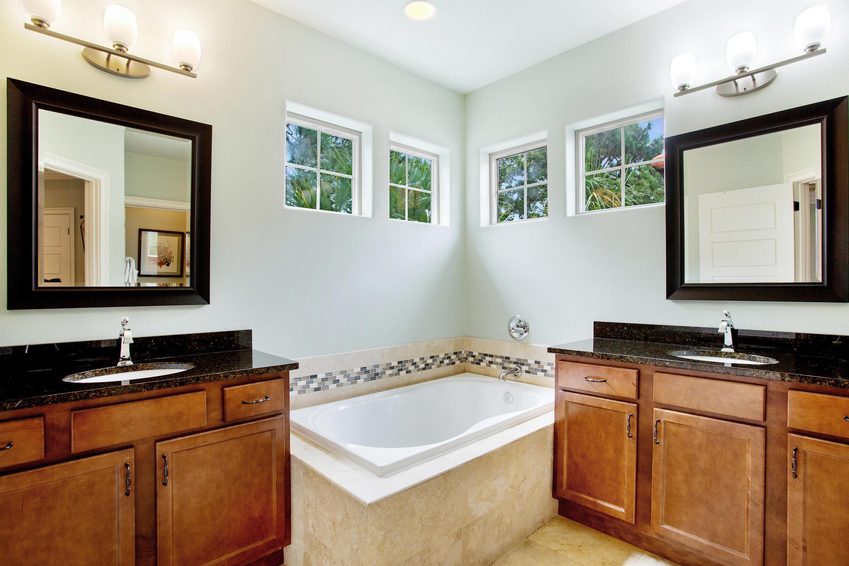 Master Bath - Double Vanities
