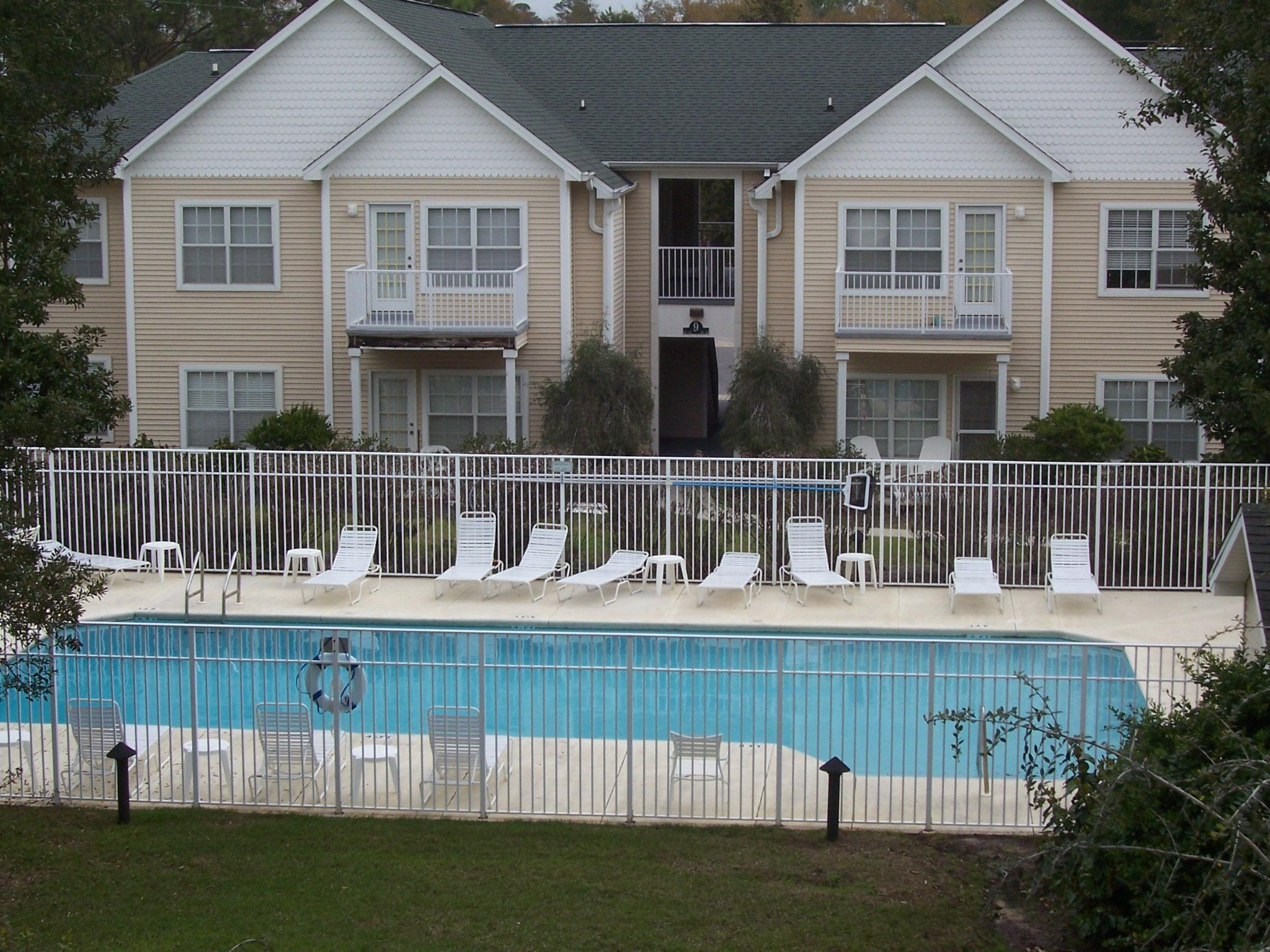View of community pool
