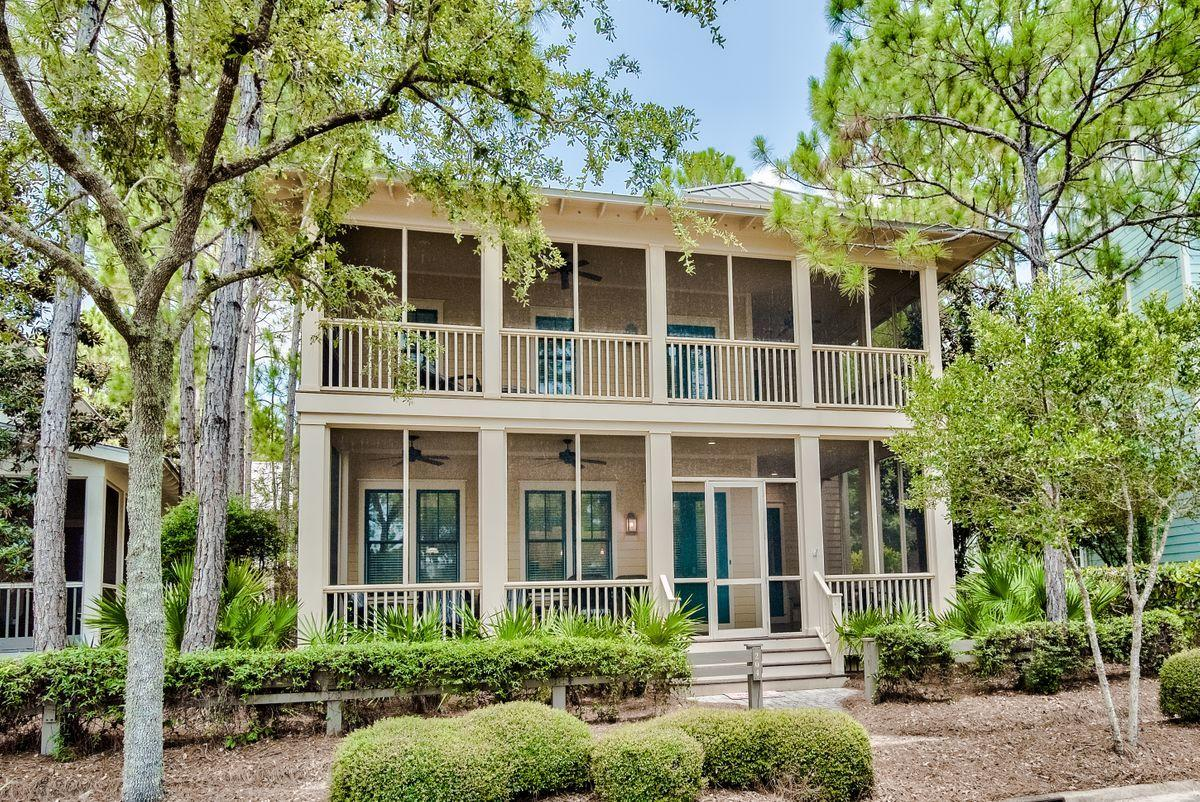 Situated in one of the most desirable areas off Scenic Highway 30A, this two-story WaterColor home with three bedrooms and four full baths is located in the Camp District on Spartina Circle, just across the street from Camp WaterColor. This well-constructed, never-before-rented cottage boasts a spacious open floor plan with a large kitchen and dining space as well as living room on the first level and an extra den with a sleeper sofa on the second. A master suite and two additional guest bedrooms on the second level all feature ensuite baths. Positioned on a great lot in an even better location, this home's 2,645 square feet boasts a single-car garage, tower and nearby access to the amenities of WaterColor and beyond.