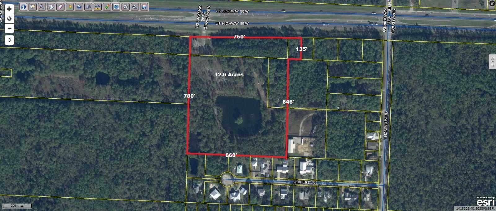 Fantastic development assemblage of four parcels in the booming Santa Rosa Beach area. Located along Hwy 98 E with 750 feet of frontage and 780 feet deep.. Just minutes from the sugar-white beaches of 30A, it is centrally located between Destin to the west and Panama City Beach to the east. with world-class shopping, fishing, recreation, dining and entertainment nearby in all directions. Zoned VMU which allows for a mixture of commercial and residential uses.
