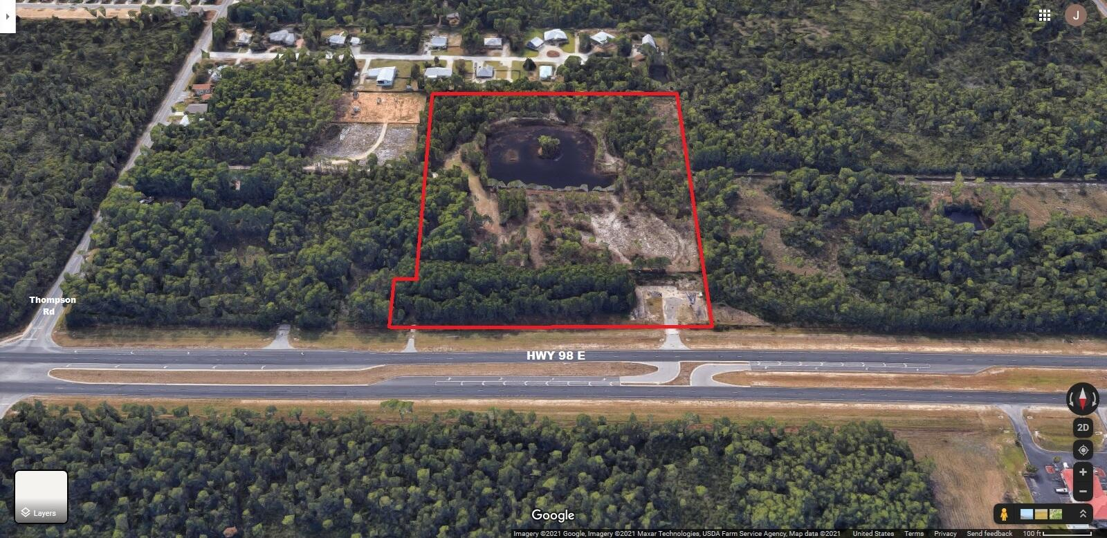 Fantastic development assemblage of four parcels in the booming Santa Rosa Beach area. Located along Hwy 98 E with 750 feet of frontage and 780 feet deep.. Just minutes from the sugar-white beaches of 30A, it is centrally located between Destin to the west and Panama City Beach to the east. with world-class shopping, fishing, recreation, dining and entertainment nearby in all directions. Zoned VMU which allows for a mixture of commercial and residential uses. All measurements and information are approximations based on available data and to be verified by buyer as to suitability for intended use.