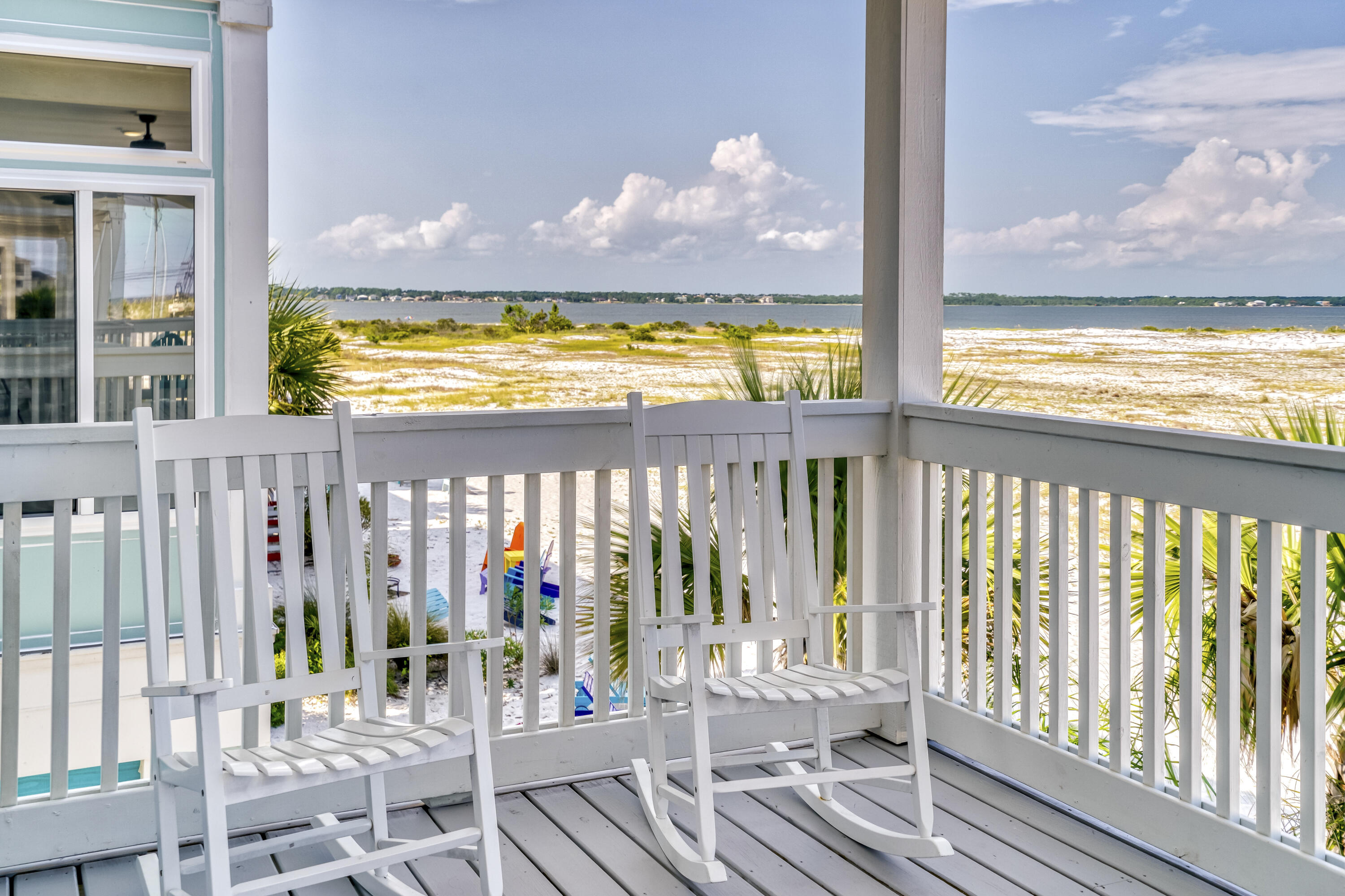 WATERVIEWS FROM EAST DECK