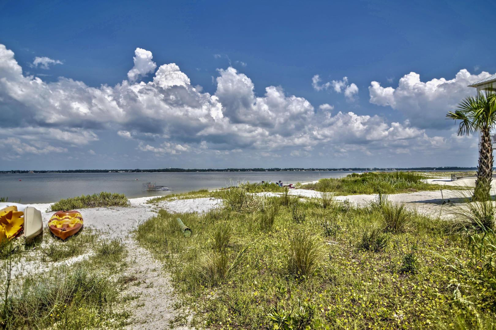 SOUND SIDE BEACH AREA