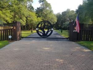 Beautiful Custom Designed Entry Gates
