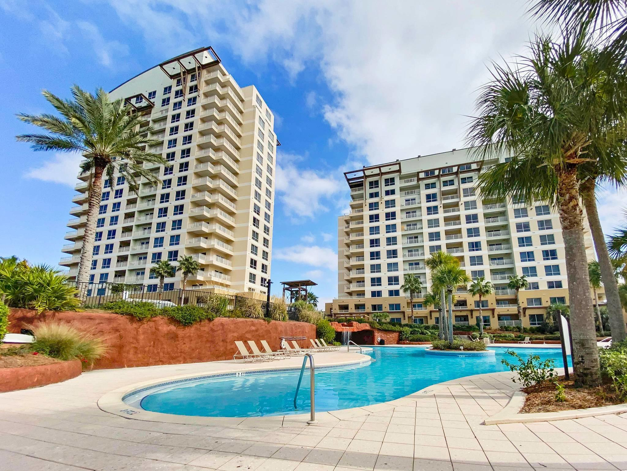 All about the views from this unit. It is located in the Phase II building closest to the beach and
