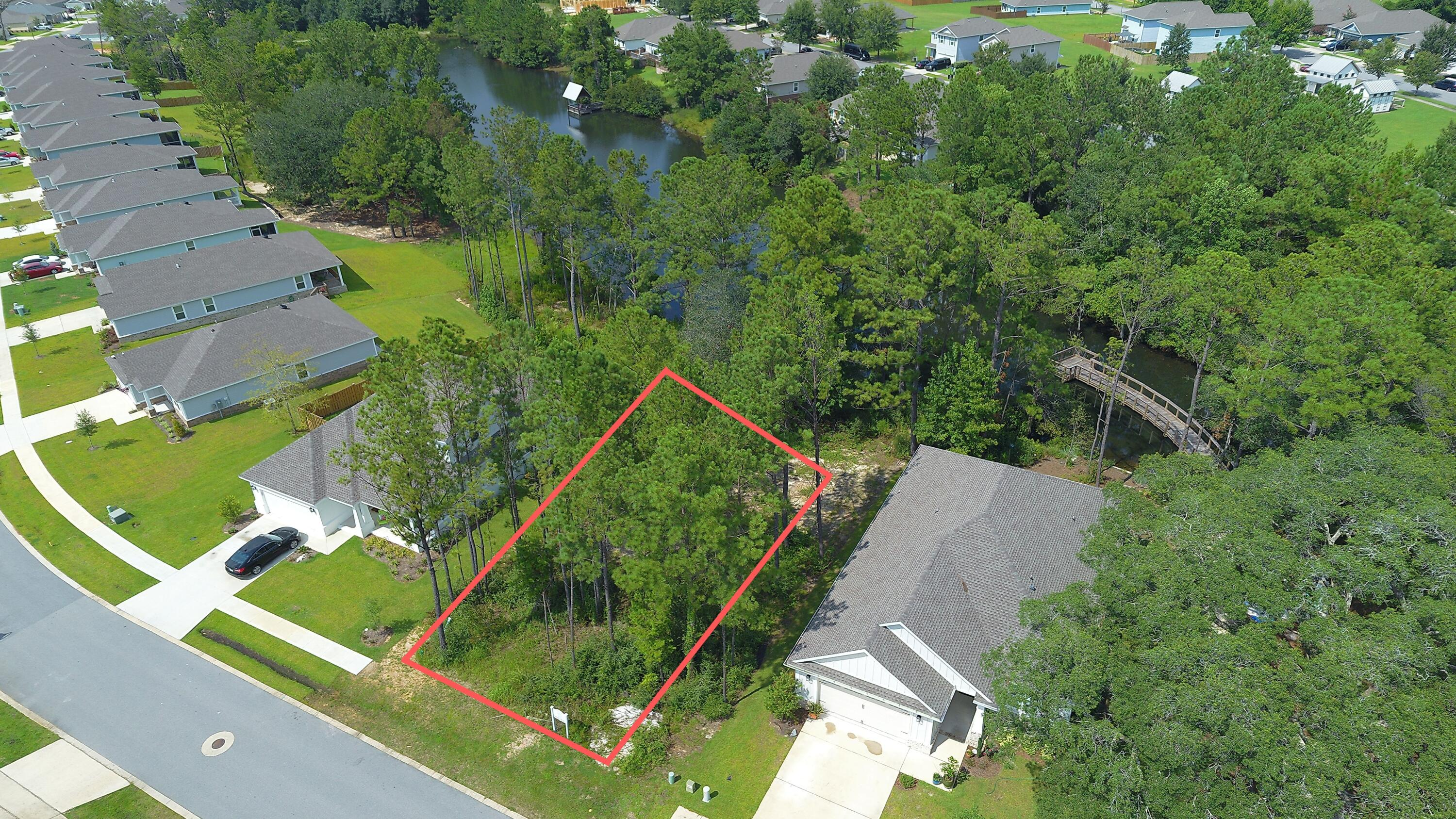 1 of 3 lots left in Lafayette Creek Landing, which is one of the newest neighborhoods of Freeport! Enjoy peaceful water views from your own back yard, overlooking the neighborhood lake. Lafayette Creek Landing is a 148 home, gated neighborhood with a pool, nature trails, and clubhouse including a fitness center. Homeowners will also be able to enjoy the canoe drop with access to the bay. Homes will range from 1500 sqft to 2700sqft with Tap Fees Paid!