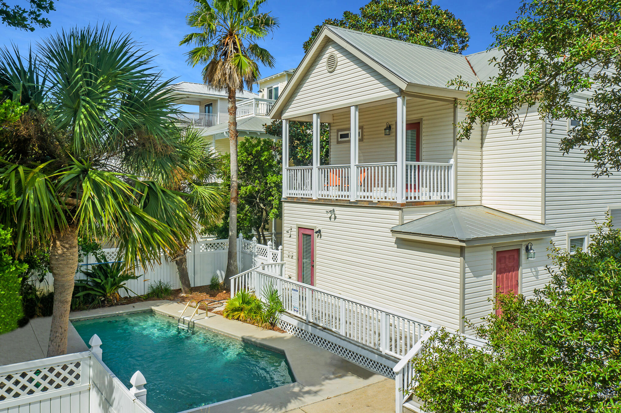 This three-bed, three-bath Crystal Beach home is in the heart of Destin and only a four-minute walk from the front door until your toes are in the sand. Featuring nearly 1,700 square feet of living space, this rental powerhouse sleeps eight with a private pool and ample parking. A great income producer, it is currently grossing more than $80,000 in annual rental proceeds and already has rentals on the books into late spring 2022. Notable features of the home include a generous wraparound porch, a private balcony off of the owner's suite and a new HVAC unit installed in July 2021. A small refresh of the property includes new bedding, lamps and artwork throughout. Enjoy all of the shopping and dining Destin has to offer, some within walking distance, from this beloved beach retreat adjacent to the Henderson Beach Resort and Spa.