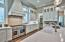 "Quartz counter tops 48"" Gas range/double oven combo"