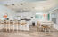 Kitchen and Dining Areas with Breakfast Bar