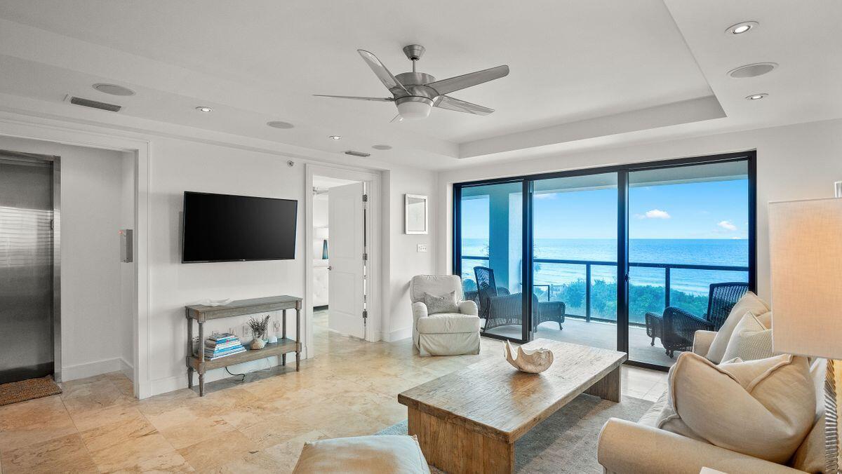 A gulf-front corner-unit condo in Seagrove Beach is a rarity, but a four-bed, three-bath condo in a