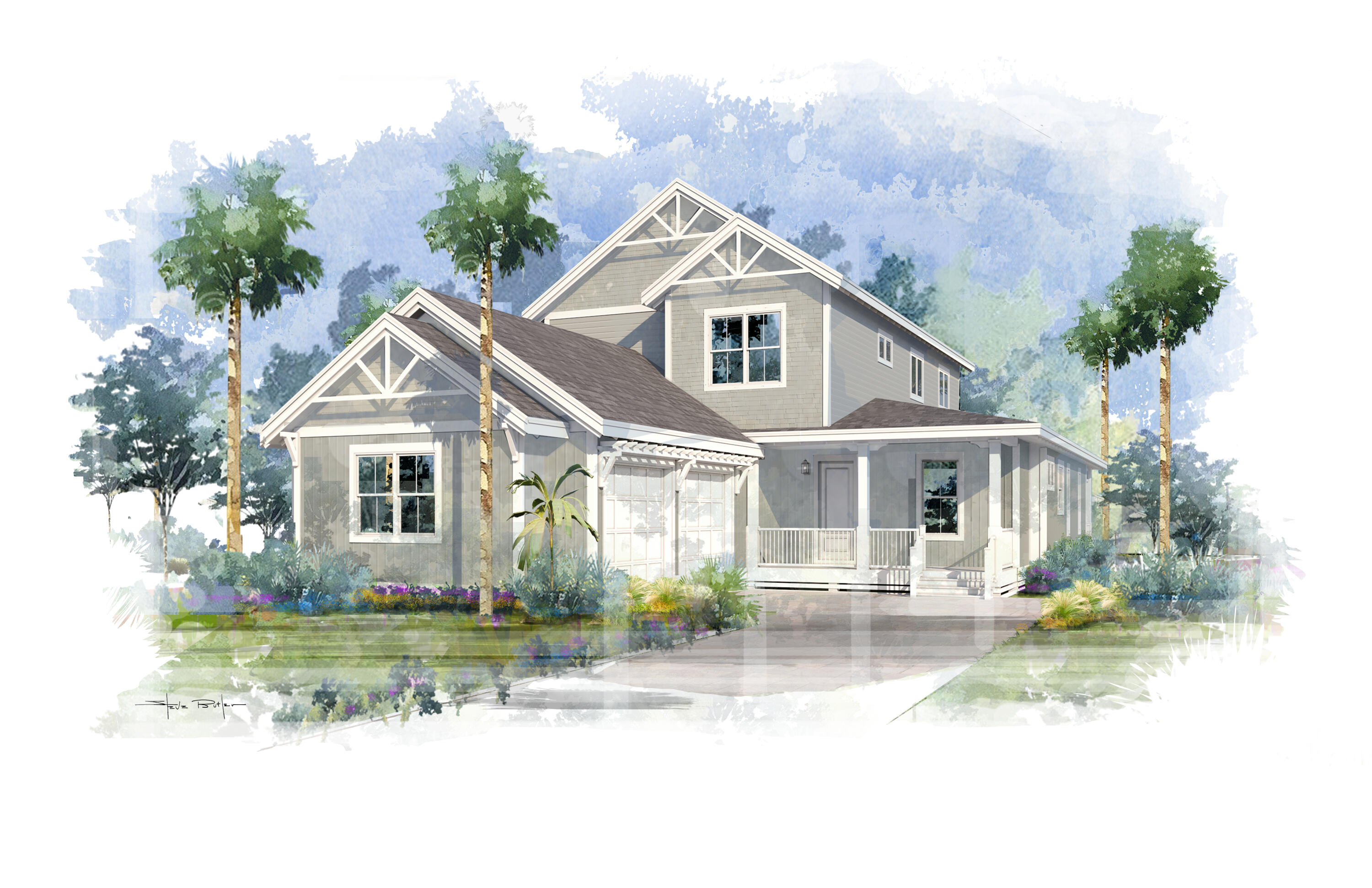 Discover the unique charm of WaterSound West Beach at this NEW construction 4BR/4BA coastal cottage