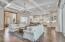Large open floor plan, living/kitchen