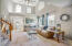Living Area View - Abundant Natural Light & Cathedral Ceiling