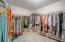 Large Walk-In Closet off of the Master Ensuite Bath