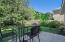 Large, Private Back Yard with Uncovered Patio; Completely Fenced