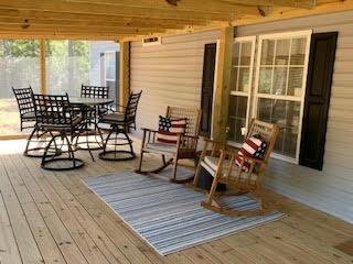 Exterior of Home Screen Porch