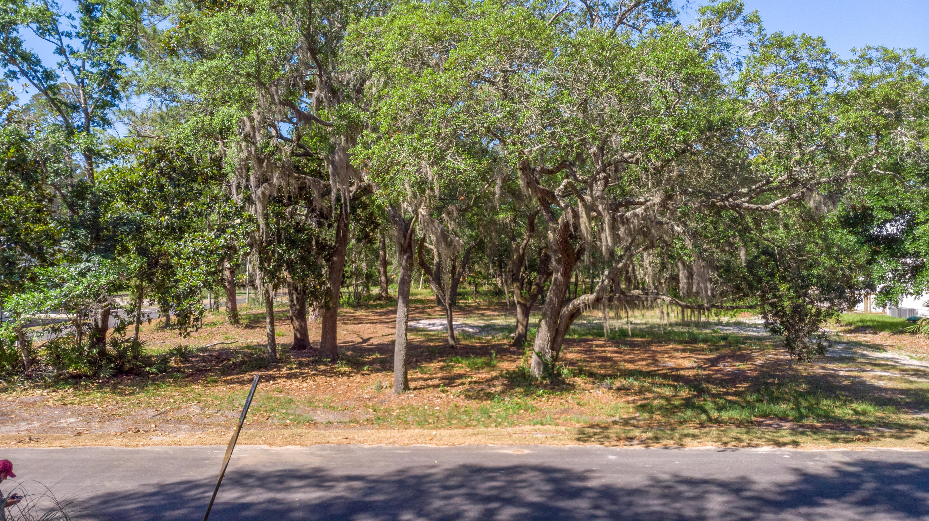 Estate lot with Bay Views from one of the oldest neighborhoods (1951) in Santa Rosa Beach.RARE NO HO