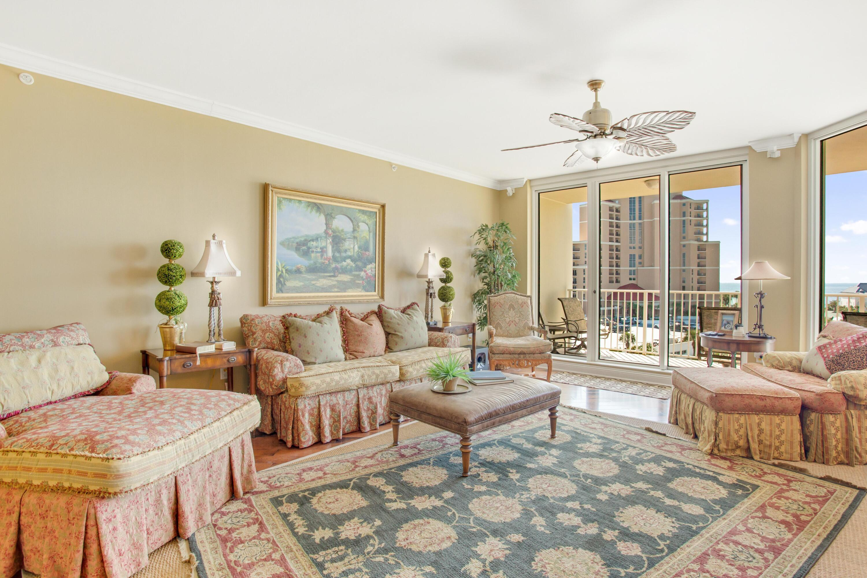 Enjoy breathtaking views of the Gulf of Mexico from this 6th floor, three bedroom, three bath reside