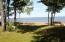Sandy beach of Whitefish Bay