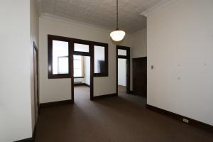 Main reception area of office.