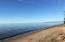 Gorgeous sandy beach as far as you can see.