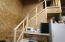 stairs to office of leased side of unit 1