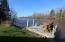 90 ft of Waterfront on the Pine River. Near the mouth of the River where it opens up to Lake Huron.