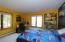 Bedroom has window overlooking River!