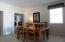 The lower level family room offers great additional living space.