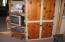 Pine cabinetry