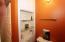 Custom Niche in the second floor bath.