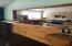 Built-in breakfast bar.