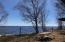 Spring view of Whitefish Bay