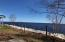 Spring view of Whitefish Bay, just outside rental units